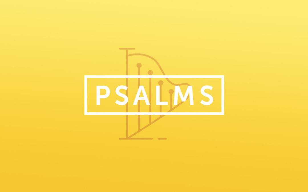 New Sermon Series this Sunday: Psalms